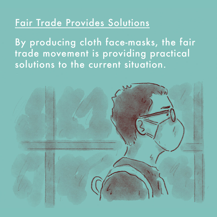 Reusable Fair Trade Face Mask Covering