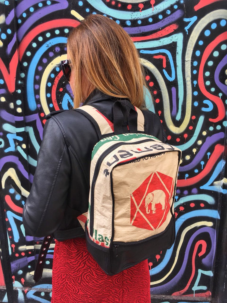 Upcycled Backpacks - Lost in Samsara