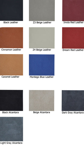 Leather or Alcantara Sample