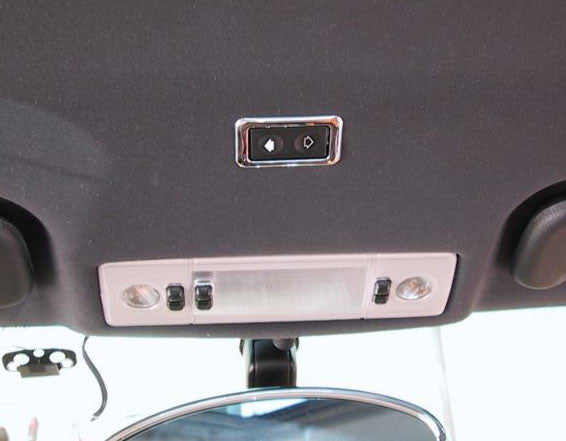 Chrome Sunroof Switch Surround