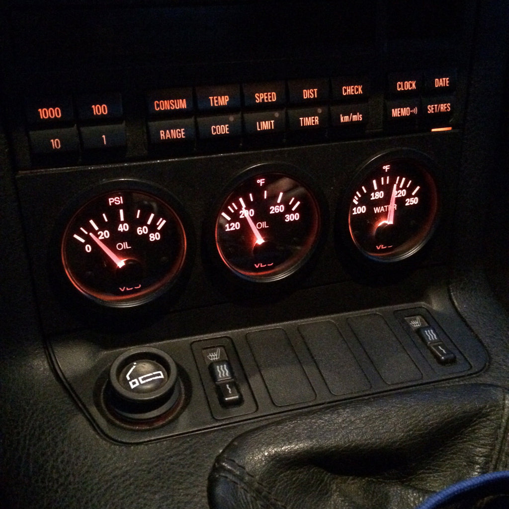 E36 Complete Gauge Kit Leatherz