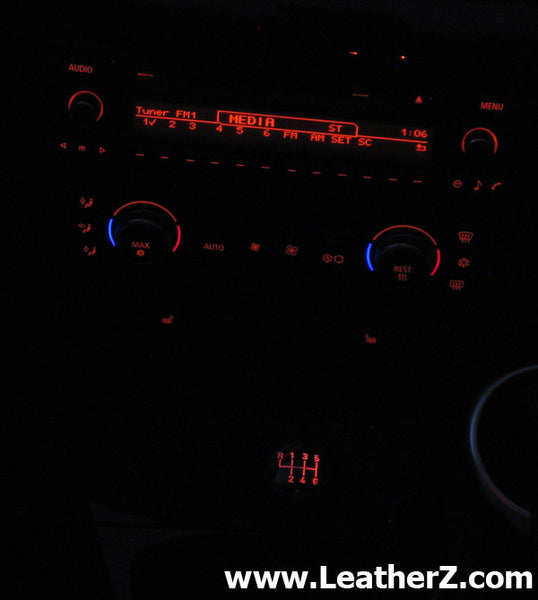 Illuminated ZHP Short Shift Knob