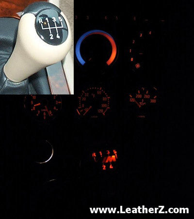 Illuminated Leather Shift Knob