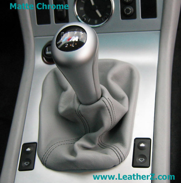 Modified Illuminated Shift Knob - Matte Chrome