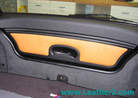Z3/M coupe Extended Leather Hatch Trim