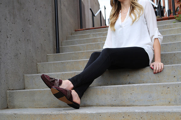 Burgundy Flats for Fall
