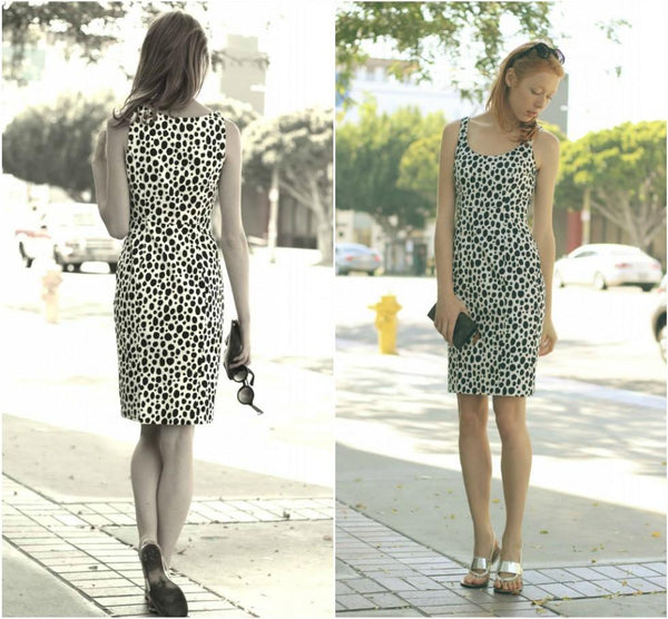 Maria Jernov in Dalmation Dress and Nicole Shoes