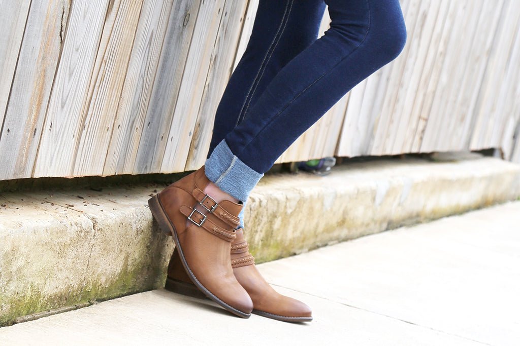nicole shoes raina closed toed booties