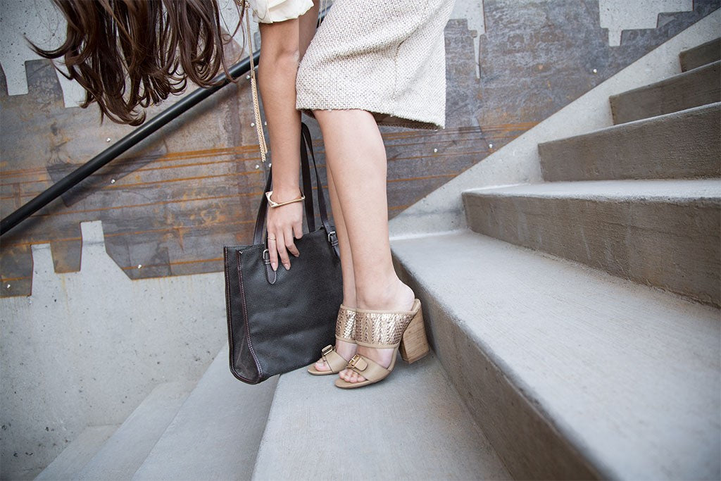 nicole shoes lanette metallics summer blog mules