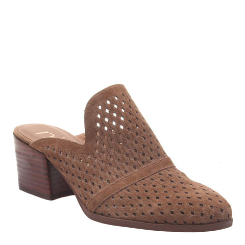 DAWNA in MEDIUM BROWN Mules