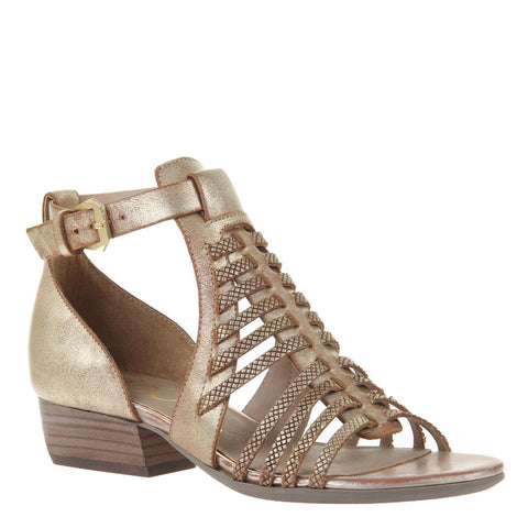 THALIA in LIGHT BRONZE Heeled Sandals