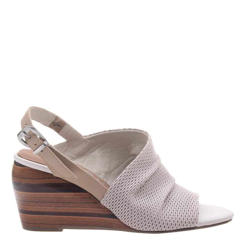 AZIZA in DOVE GREY, right view