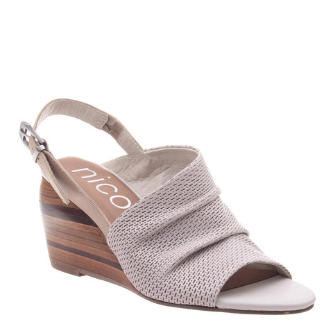 AZIZA in DOVE GREY