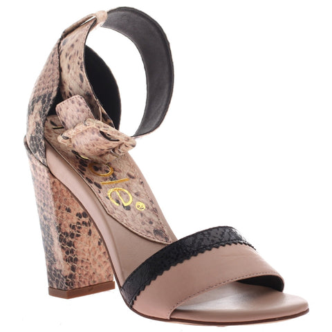 Nicole, Barri, Angel Face, Open toe ankle strap high heel