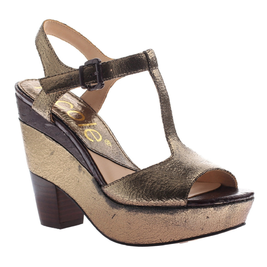 Gerry Pewter Wedge Gerry Gerry Sandals Sandals In In In Pewter Wedge YeWH2D9IE