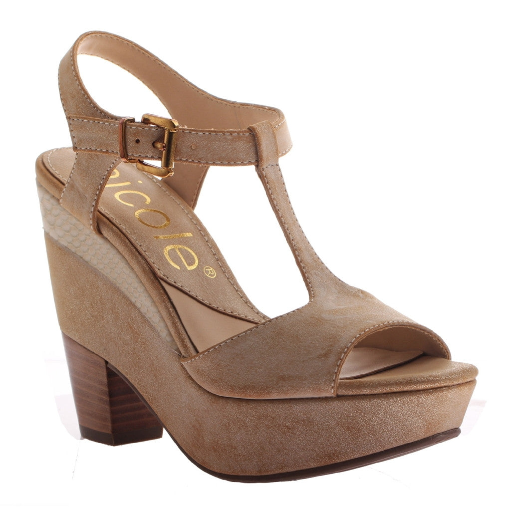 9ca5ce7bbbdbc6 Gerry in Sahara Wedge Sandals