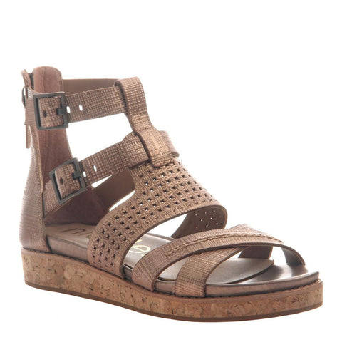 THALIA in PECAN Heeled Sandals