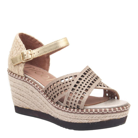 W63299 L in CAMEL Wedge Sandals