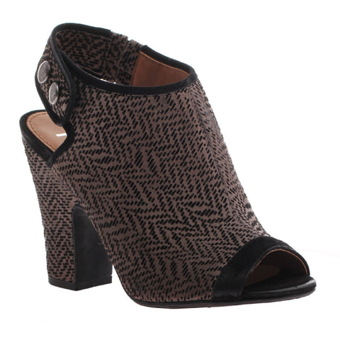 Nicole, Layla, New Black, Ankle strapped toe heel