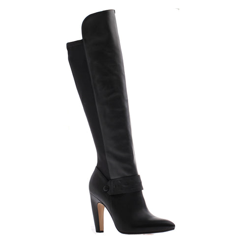 Nicole, Lexi, Black, Over the knee high heel boot