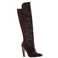 Nicole, Lexi, Burgundy , Over the knee high heel boot