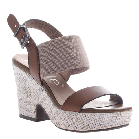 Nicole, Mikaela, Ancient, Ankle strap wedge, open toe and open heel