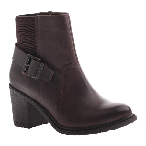 Nicole, Reiny, Dark Dune, Combat bootie with side buckle