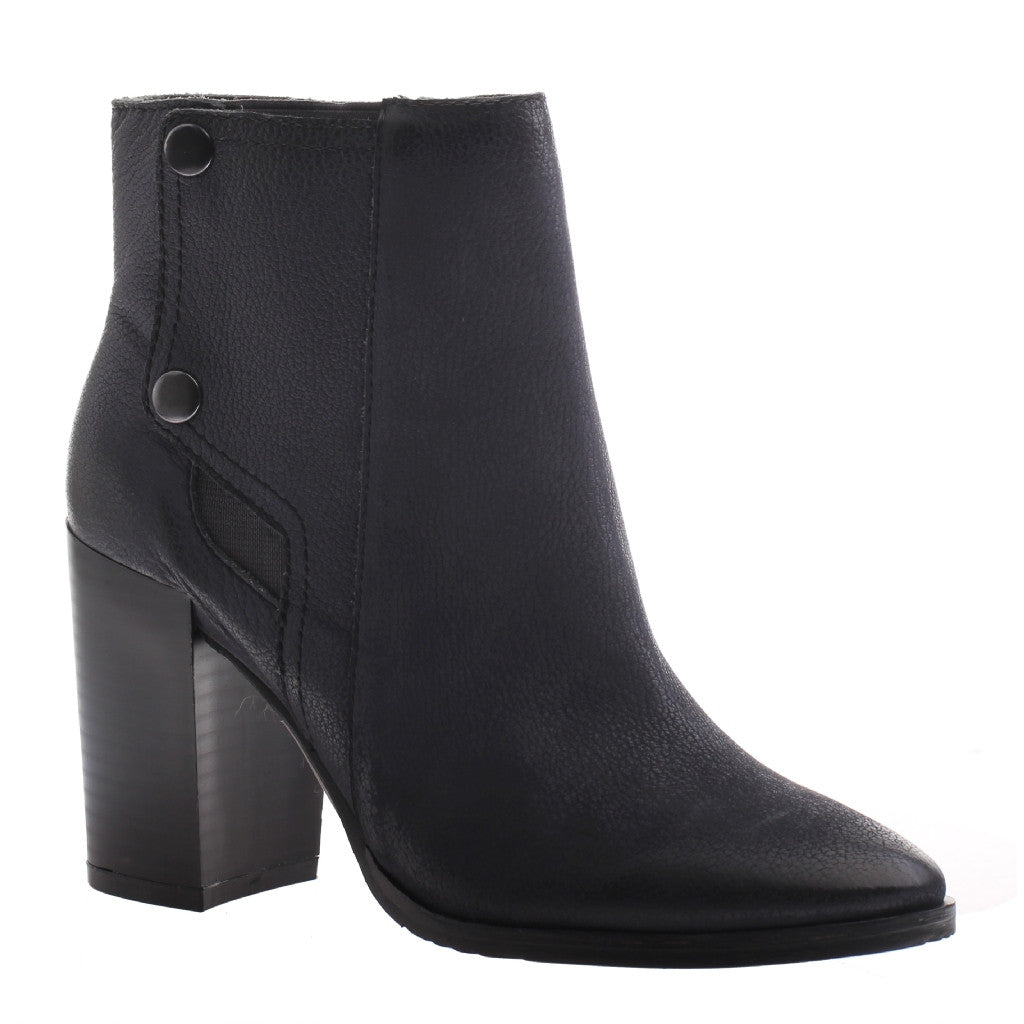 Nicole, Salley, Lead, Stacked bootie with side snaps