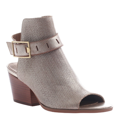 Nicole, Talullah, Light Gold, Transitional shoe with open heel and open toe with upfront styling