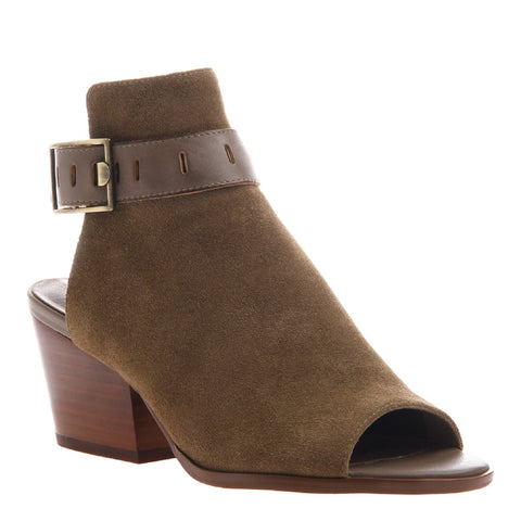 Nicole, Talullah, Otter Transitional shoe with open heel and open toe with upfront styling