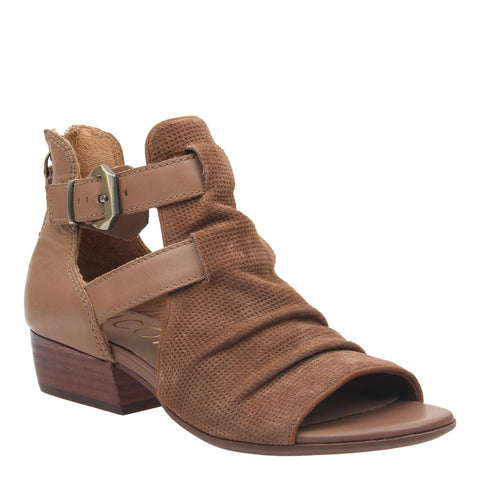 NOEMI in NEW CHESTNUT Heeled Sandals