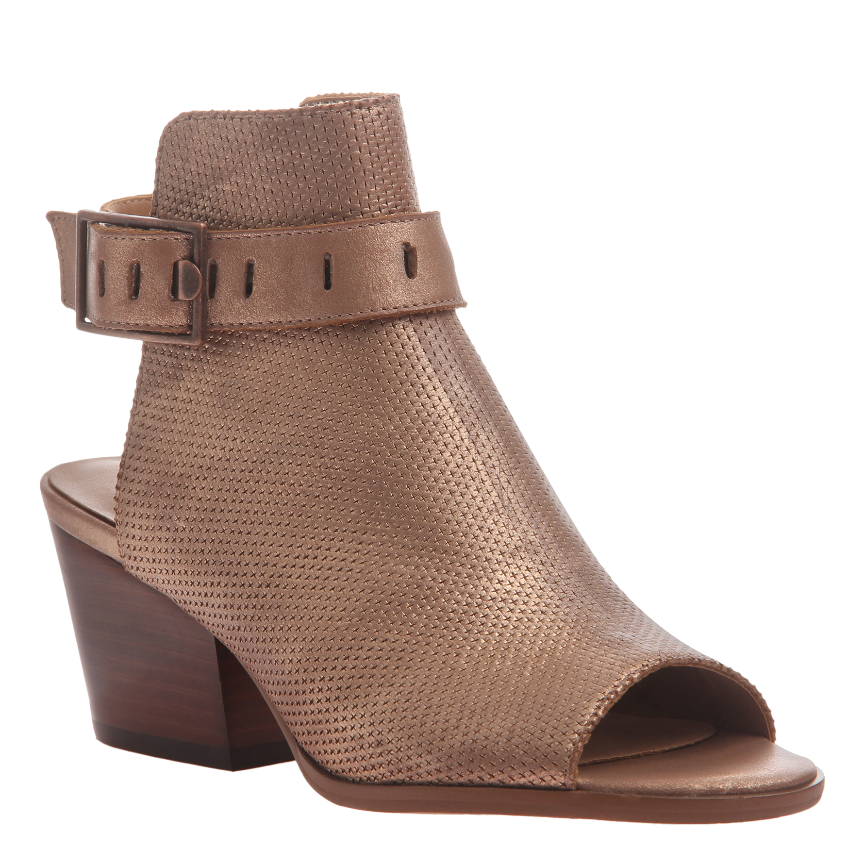 Women's heeled shootie Talullah in copper