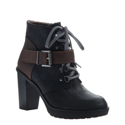 LIVIA in ELMWOOD Open Toe Booties