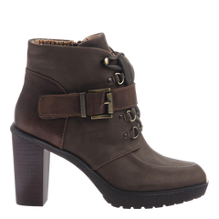 Womens ankle boot Sylvie in mint side view