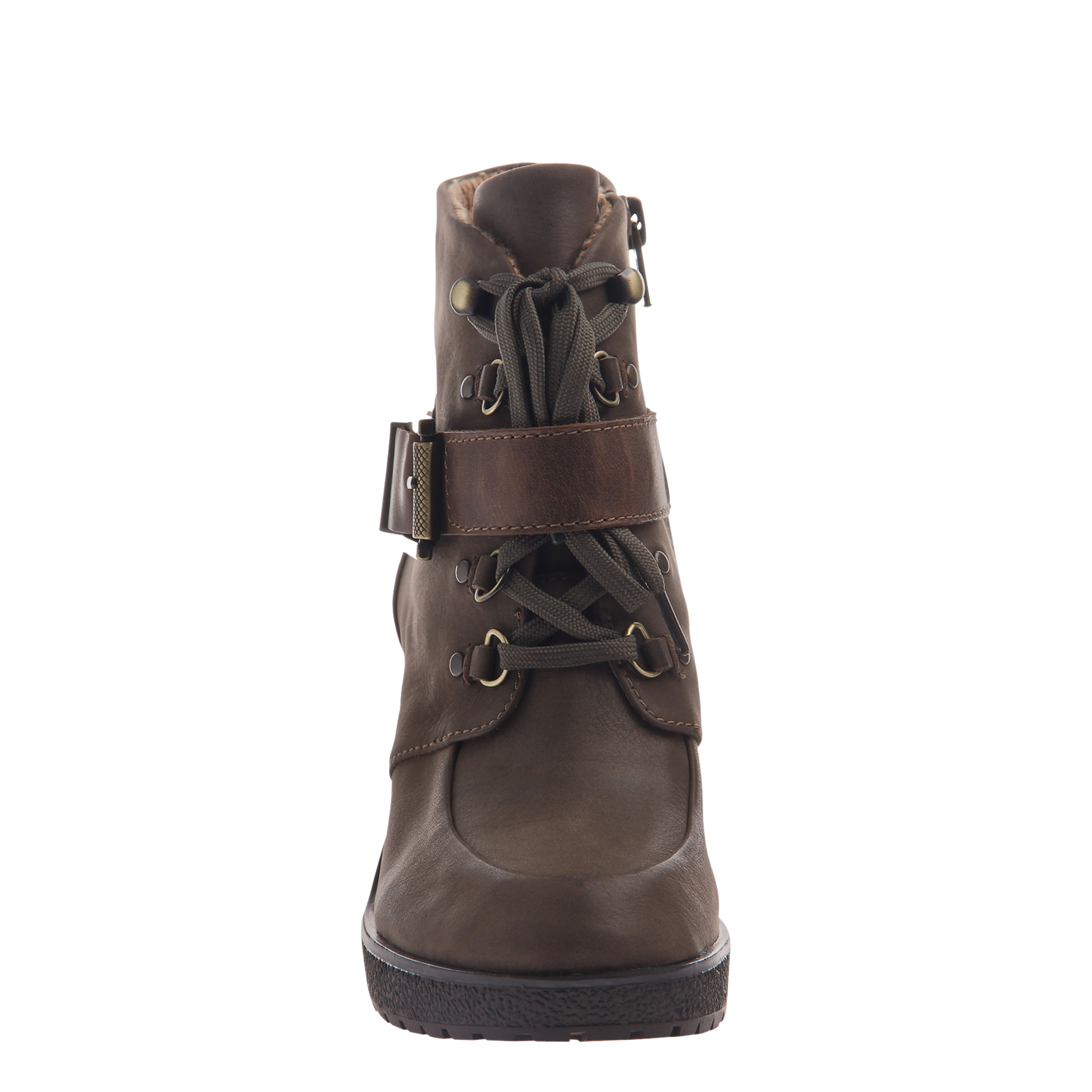 Womens ankle boot Sylvie in mint front view