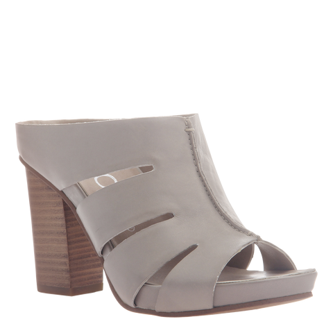 Nicole womens heeled sandal Delphine in grey