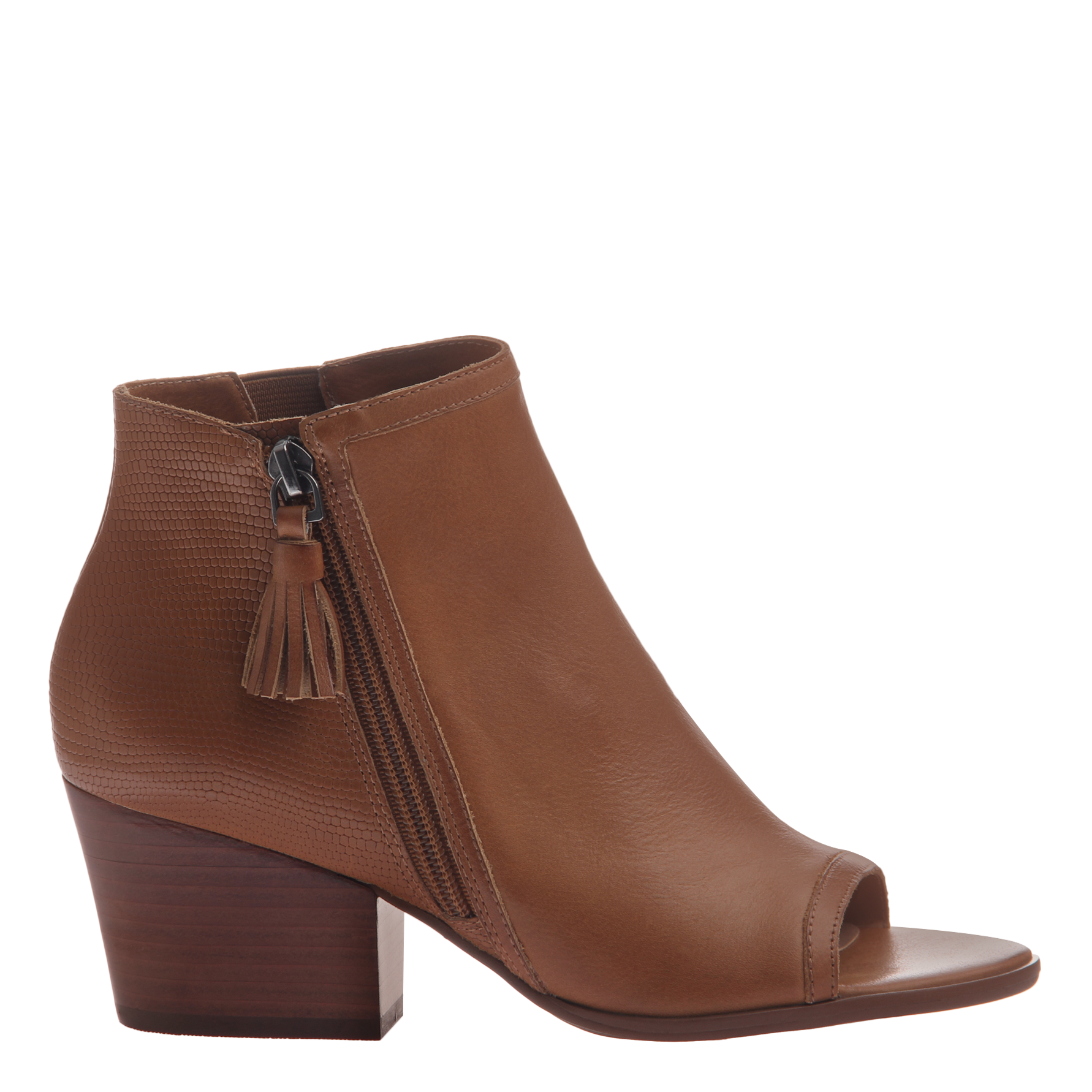 Nicole womens ankle boot Ania in butterscotch side view