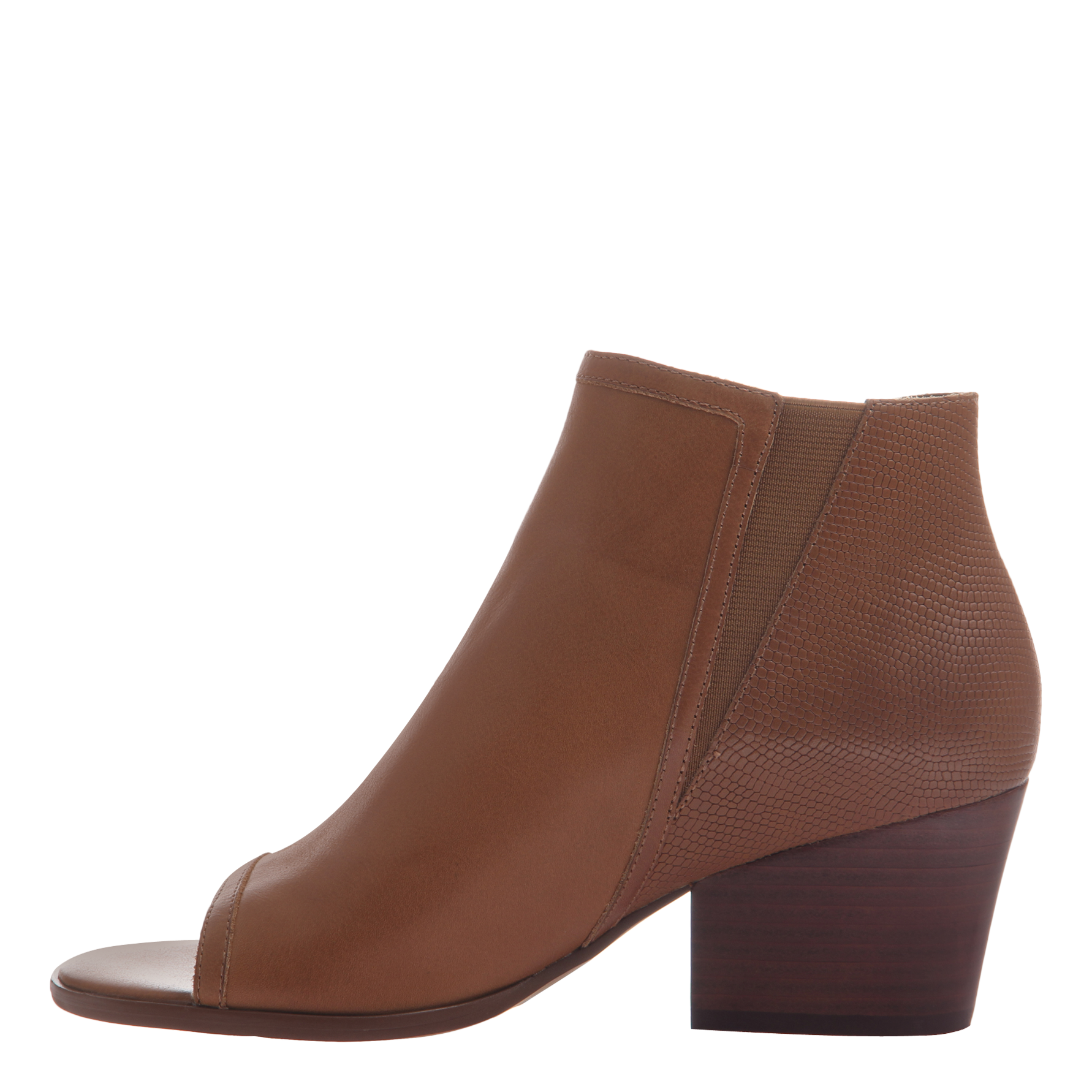 Nicole womens ankle boot Ania in butterscotch inside view