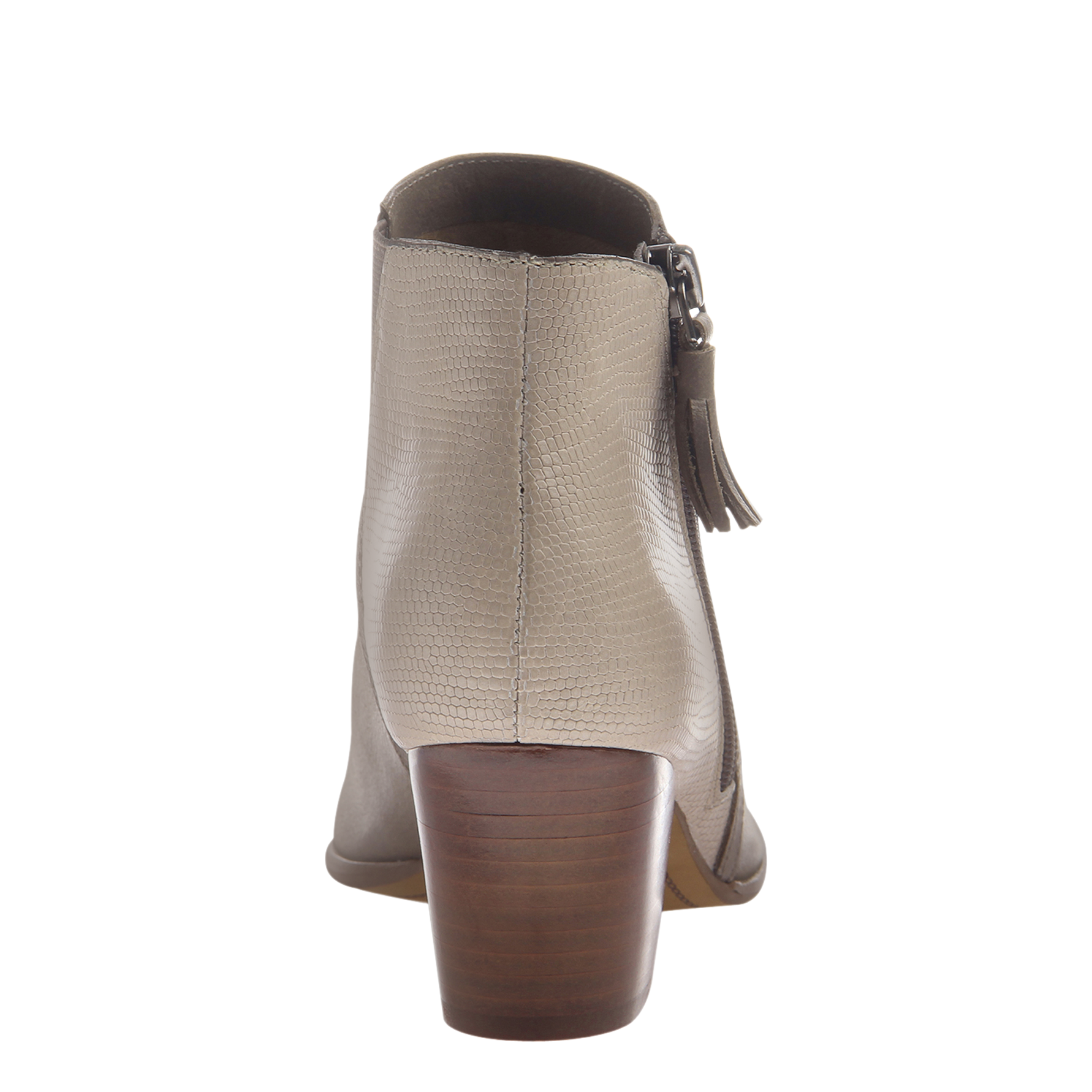 Nicole womens ankle boot Ania in timber wolf back view