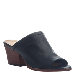 Nicole mule slide Carolina in black