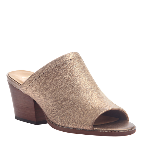 Nicole womens mule slide Carolina in Copper
