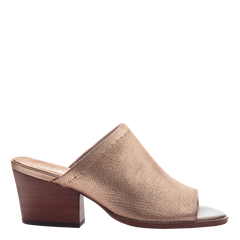 Nicole womens mule slide Carolina in Copper side view