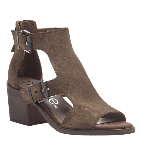Womens heeled sandals Jahida in otter
