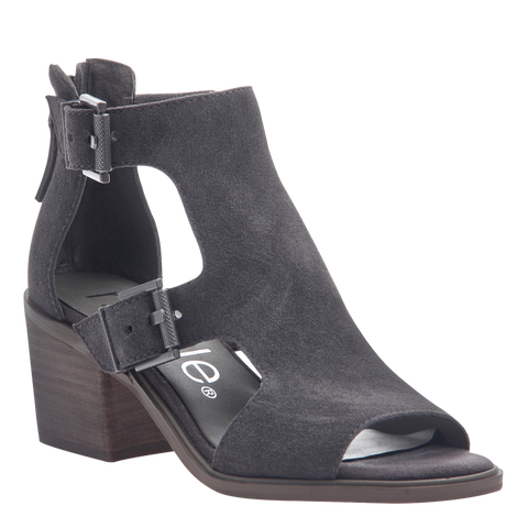 DANETTE in ZINC Wedge Sandals