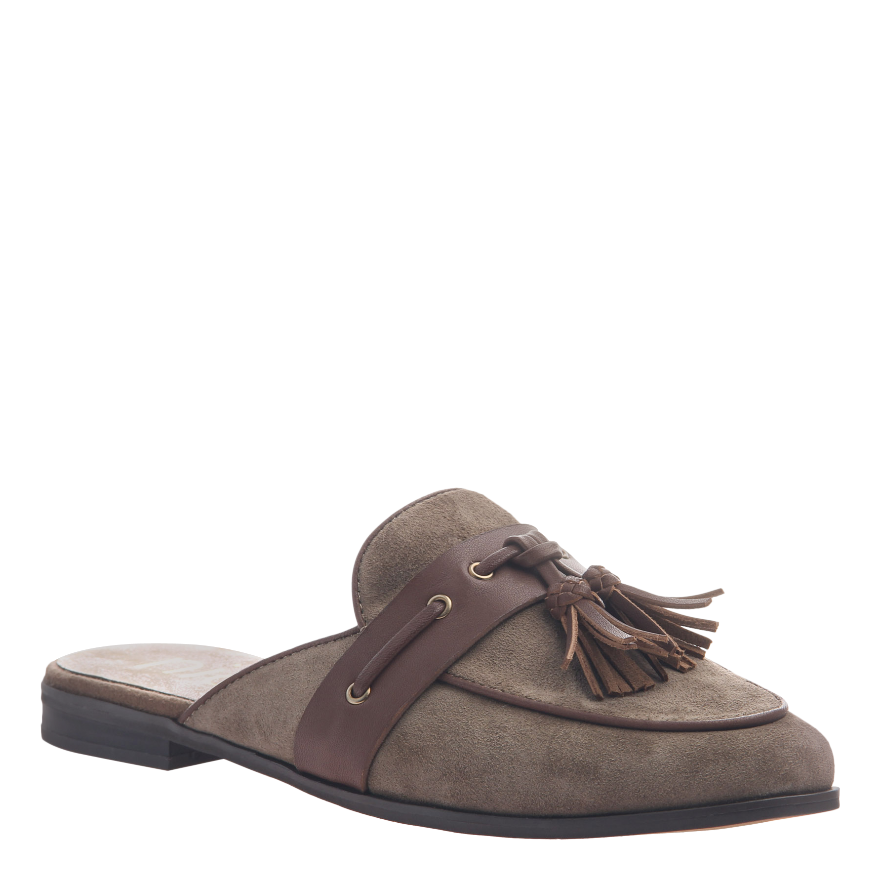 Womens slip on loafer Yulia in otter