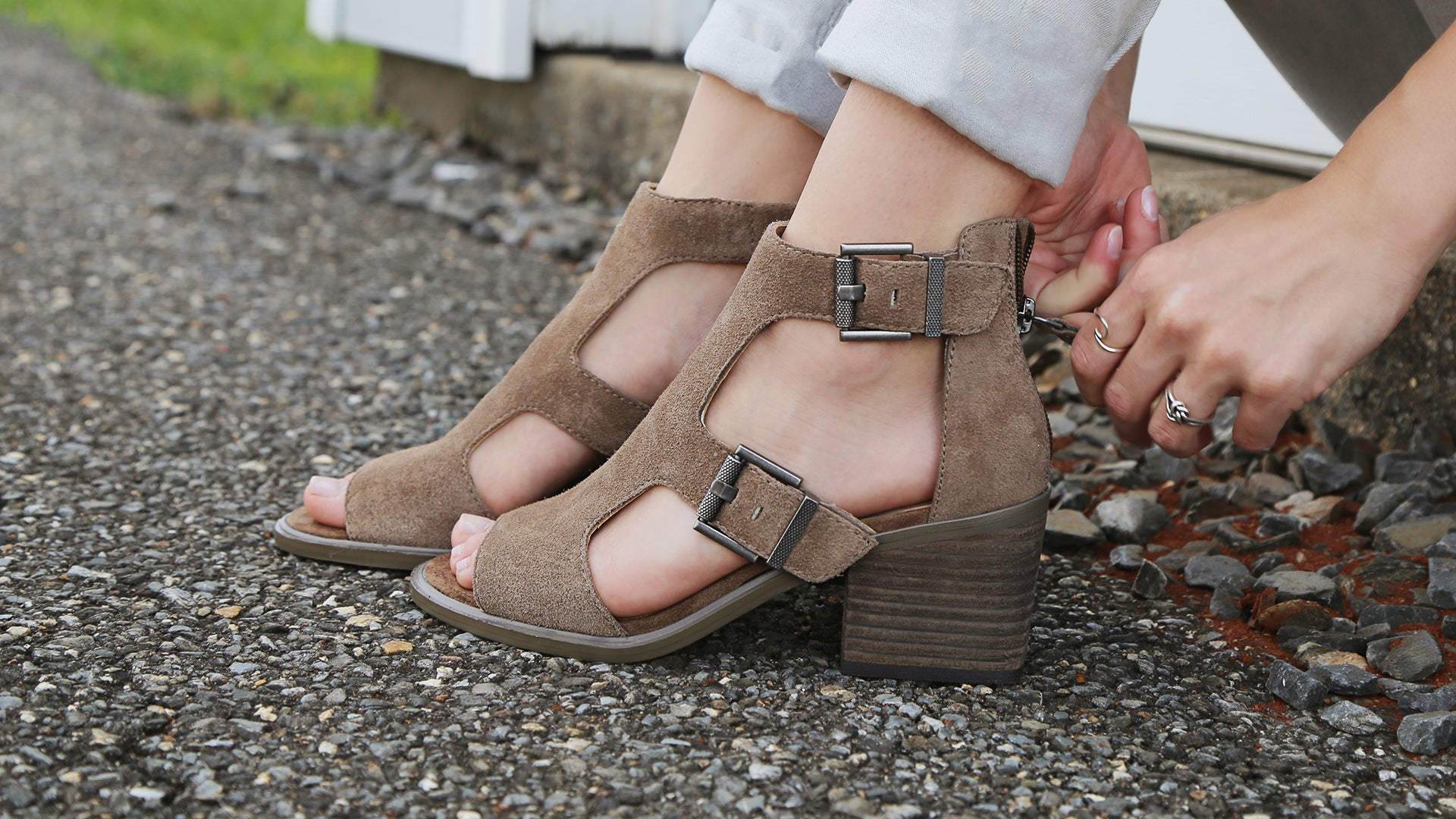 Women's summer booties