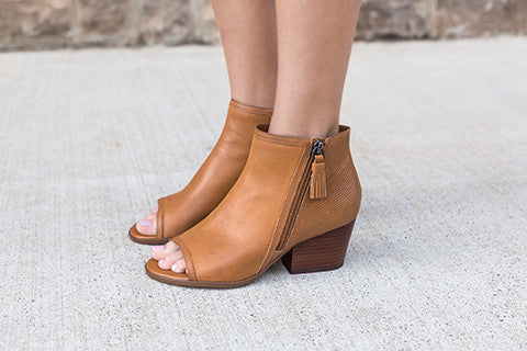 8a44a99ab6f Rabekah in Camel Wedge Sandals