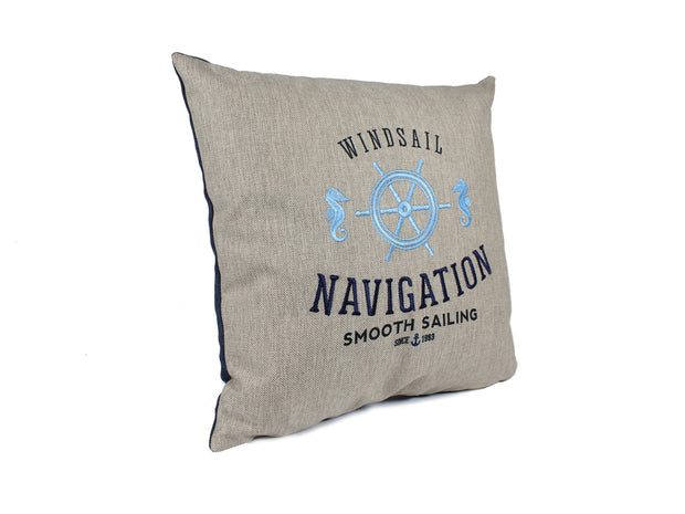 Cojín Nautical Navigation - Mulhouse Store