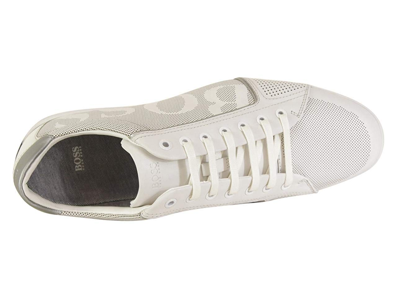 HUGO BOSS SATURN_LOWP_LOGO LACE-UP SNEAKER 50408040-100
