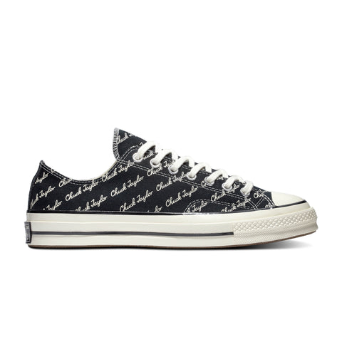 CONVERSE CHUCK 70 SIGNATURE OX LOW TOP UNISEX SNEAKERS 167698C